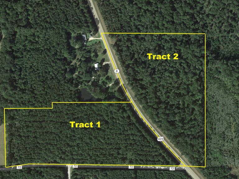 ASHLEY COUNTY ABSOLUTE 44+/- ACRE LAND AUCTION ~ HAMBURG, AR