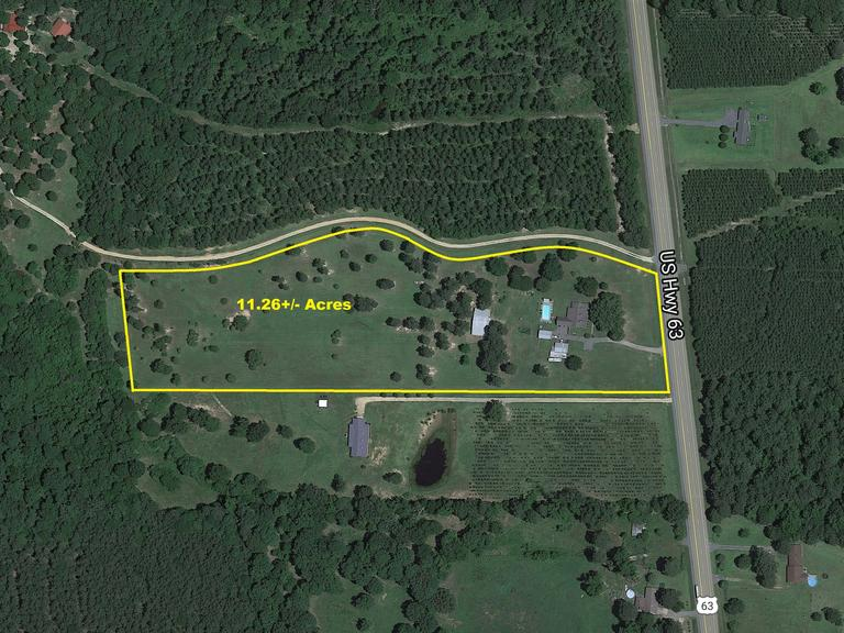 CLEVELAND COUNTY ABSOLUTE 11+/- ACRE ESTATE & PERSONAL PROPERTY AUCTION ~ RISON, AR