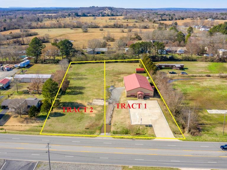 FAULKNER COUNTY ABSOLUTE COMMERCIAL BUILDING & LAND AUCTION ~ GREENBRIER, AR